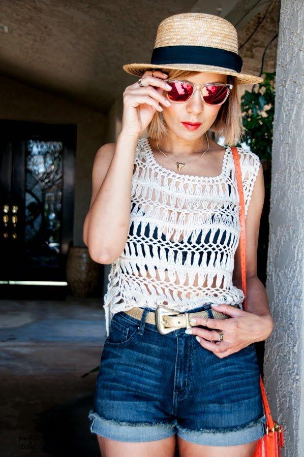 Coachella Street style, denim shorts, African American Blogger, Fashion blog, top fashion blog, best fashion blog,