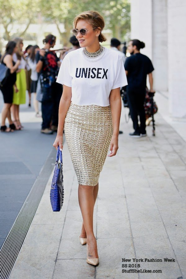 V label London, Fashion Week, Fashion Week ss 2015, street style, sequins skirt, taye hansberry, new york fashion, LA fashion bloggger