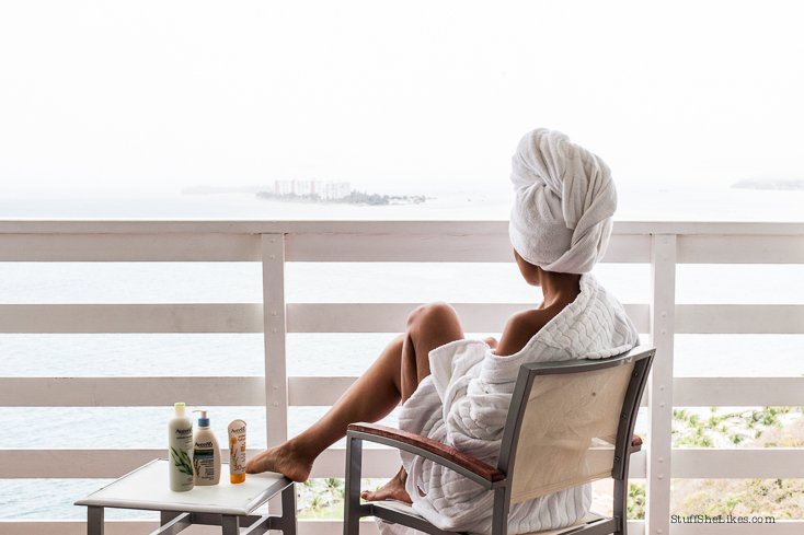 Aveeno Lotion, Body wash, Sunscreen for the body, What to take on Vacation.
