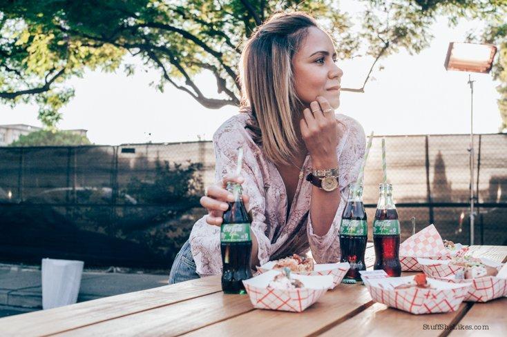 soda, natural soda, food blogger, the odells, Downtown LA, Blogger, Fashion blogger