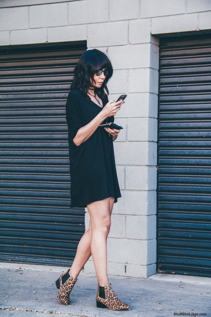 french connection booties, micheal stars black dress, fashion blogger, top 10 fashion bloggers, best fashion bloggers, stylish black dresses, casual summer dress