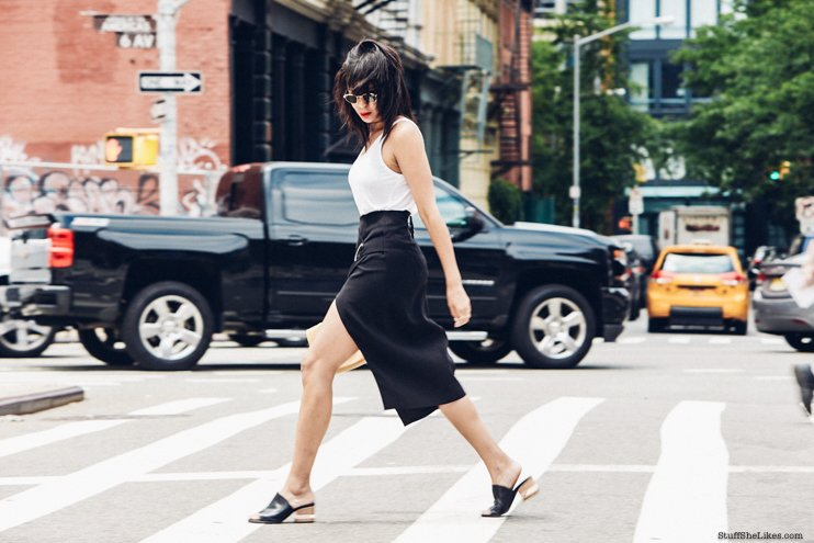 fashion, new york, summer, fashion blogger, blogger, top fashion blogger, best fashion blogger, fashion blogers with bangs, lou and grey, CMEO collective, Fashion BNKR