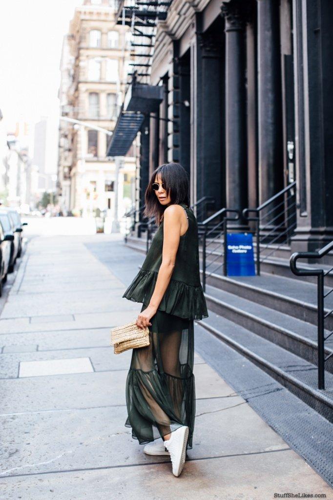 sheer skirt, bnkr fashion, taye hansberry, top ten bloggers, fashion blogger, best fashion blogger, best fashion blogger hair, bangs, the outnet,